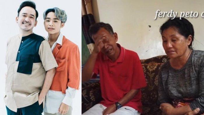 Kakek Nenek Betran Peto Menangis Lihat Video yang Disiapkan Ayah Kandung Onyo, Ungkit Sikap Ruben
