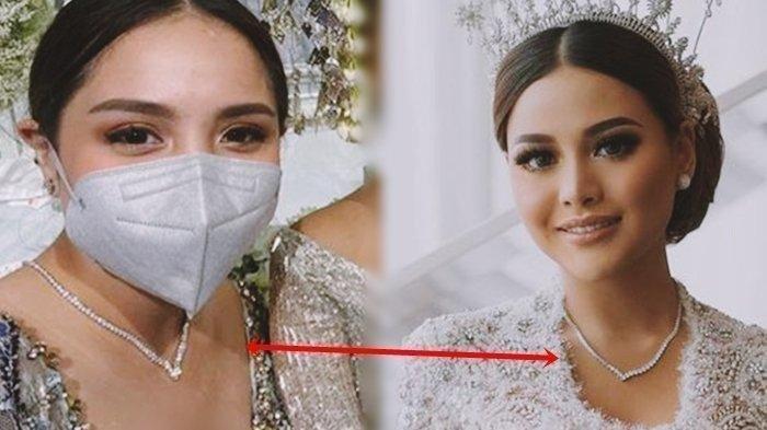 Kalung Nagita Slavina mirip kalung Aurel Hermansyah tapi beda harga tak sampai miliaran rupiah