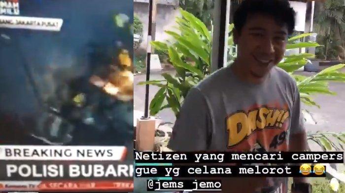 Sosok Kameramen Kompas TV yang Viral Karena 'Celana Melorot' di Tengah Suasana Mencekam di Jakarta