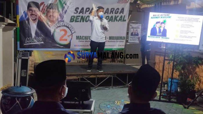 Kampanye Pilwali Surabaya 2020, Machfud Arifin-Mujiaman Siapkan Program Pandemi Rp 1 Juta per KK