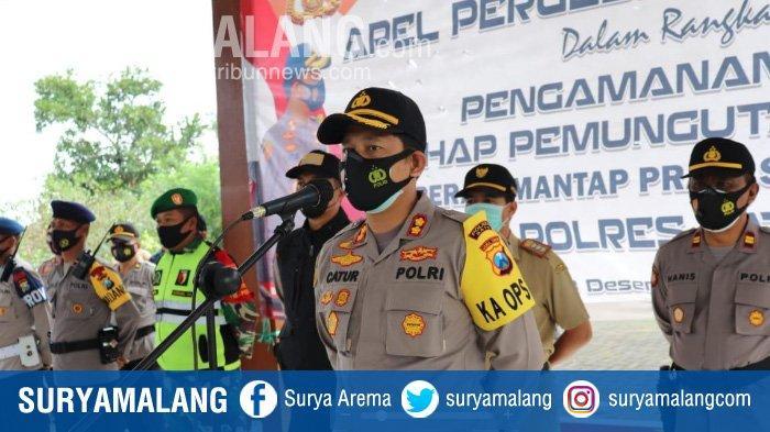Jaga Pilkada Malang, Polres Batu Ikut Sebar Pasukan ke Wilayah Malang