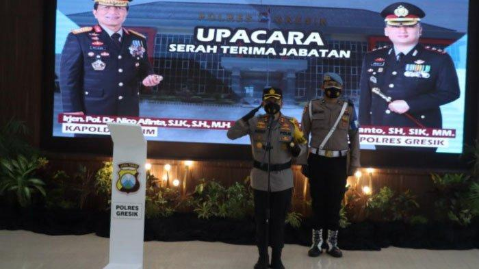Daftar Pejabat Baru di Polres Gresik, Ada yang Baru Pindahan dari Polres Malang