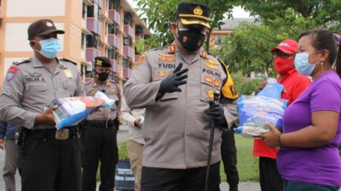 Warga Rusunawa Kota Kediri Terdampak Covid-19 Dapat Bantuan Beras