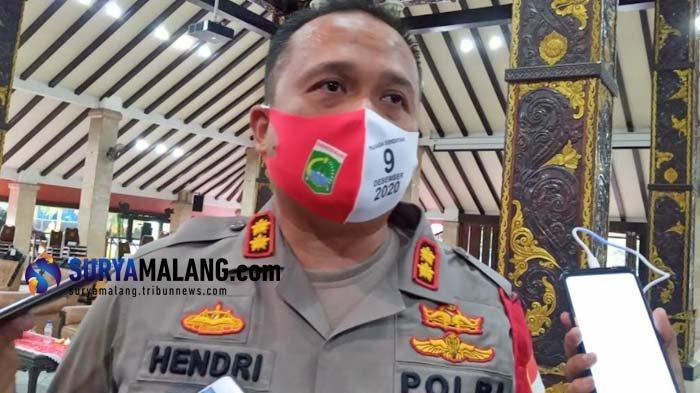 Kapolres Malang AKBP Hendri Umar Sarankan Masyarakat Berdoa saat Tahun Baru 2021