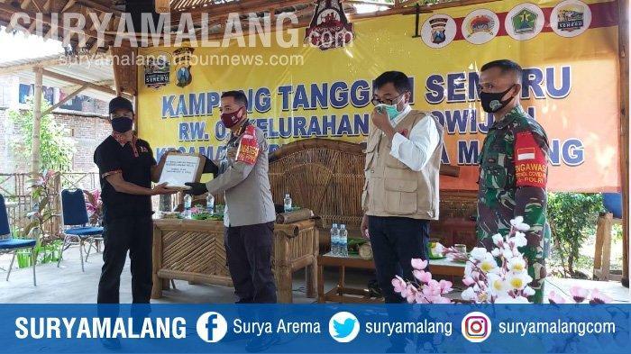 Polresta Malang Kota Kukuhkan Kampung RW 3 Polowijen Menjadi Kampung Tangguh