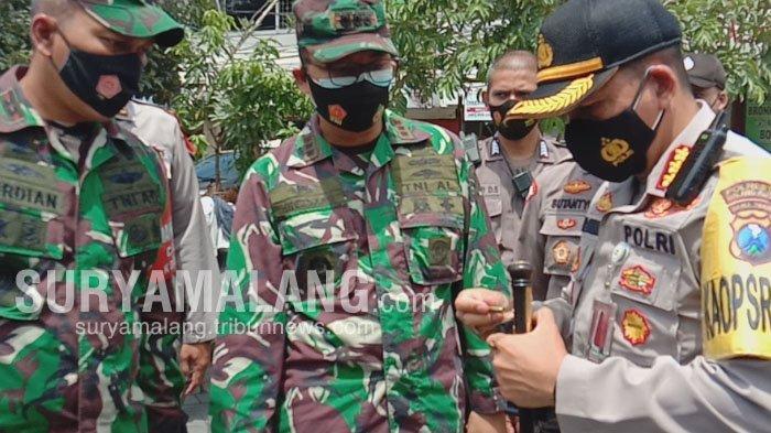 Antisipasi Teror, Polresta Malang Kota Bekali Anggota Senjata Laras Panjang