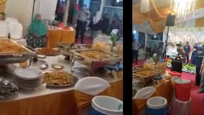Kronologi Video Viral Kapolsek Semboro Bubarkan Resepsi Pernikahan di Jember