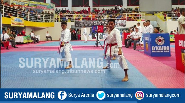 Tuan Rumah Kejurnas Karate  Piala Panglima Divif 2 Kostrad , Batu Kejar Best of The Best