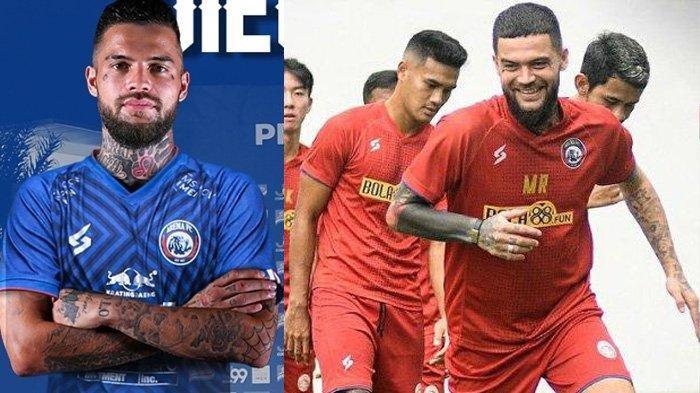 Karier Diego Michiels Sebelum Gabung Arema FC, Kini Pikul 2 Tugas Berat dari Presiden Klub