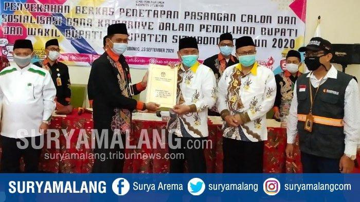 KPU Tetapkan 2 Pasangan Ikut Pilbup Situbondo