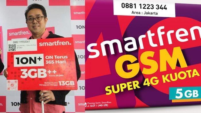6 Keuntungan Pakai Kartu Perdana Smartfren Terbaru 10N+, Bonus Kuota Mingguan Hingga 13 GB