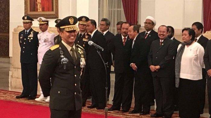 Presiden Jokowi Lantik Jenderal TNI Andika Perkasa Sebagai KSAD, Gantikan Jenderal TNI Mulyono