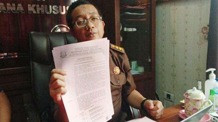 Korupsi di SMK Negeri 10 , Kejari Kota Malang Tetapkan Kepala Sekolah DL Sebagai Tersangka