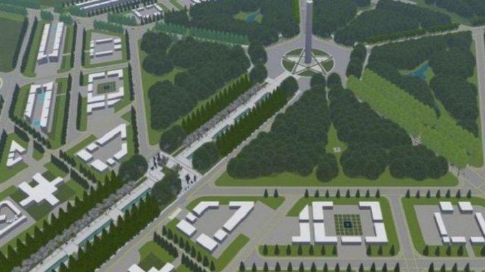 Inilah Wajah Ibu Kota Indonesia di Kalimantan dalam Gagasan Desain yang Dirilis Kementerian PUPR