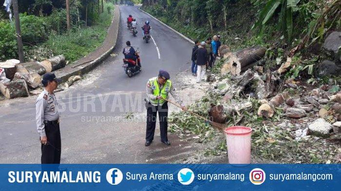 Kawasan Prigen Pasuruan Longsor, Jalur Wisata ke Tretes Sempat Tertutup