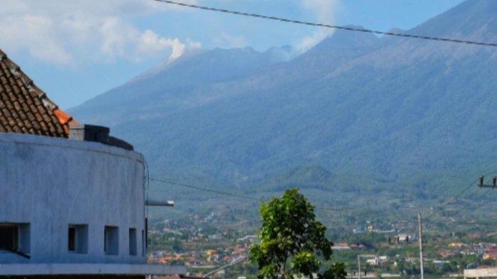 Kepulan Asap di Gunung Arjuno Tak Terlihat lagi dari Kota Batu, Berikut Keterangan BPBD