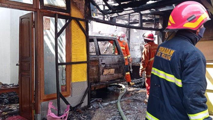 Kronologi Kebakaran di Jl Kyai Sofyan Yusuf, Kota Malang, Pemilik Rumah Isi Bensin di Dekat Kompor