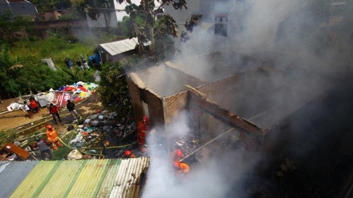 Dalam Sehari Ada 2 Peristiwa Kebakaran di Sawojajar dan Tlogomas Malang