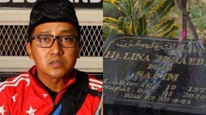 Keberadaan Teddy Jarang Ziarah ke Makam Mantan Istri Sule Disorot, Ada Gosip Suami Lina Nikah Lagi