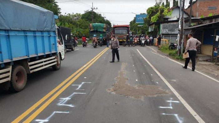 Mr X Pengendara Honda Vario Tewas Terlindas Truk di Bangsal Kabupaten Mojokerto, Kronologis Kabur