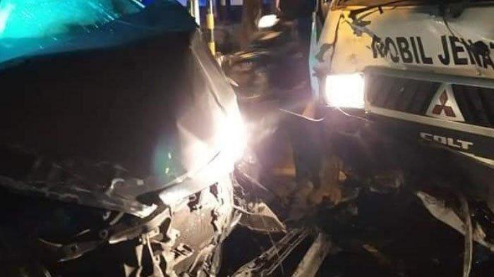 Kecelakaan Libatkan 3 Mobil Polres Jember, Mobil Jenazah, dan Innova di Sukorambi, 5 Orang Terluka