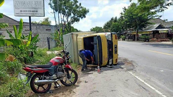 3 Kendaraan Alami Kecelakaan Beruntun di Jalur Pantura Tuban, Begini Nasib Para Pengemudi