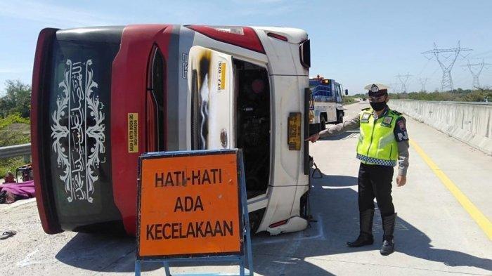 Kecelakaan Maut Bus Sudiro Tungga Jaya Vs Truk yang Disopiri Warga Pasuruan di Tol Pemalang, 8 Tewas