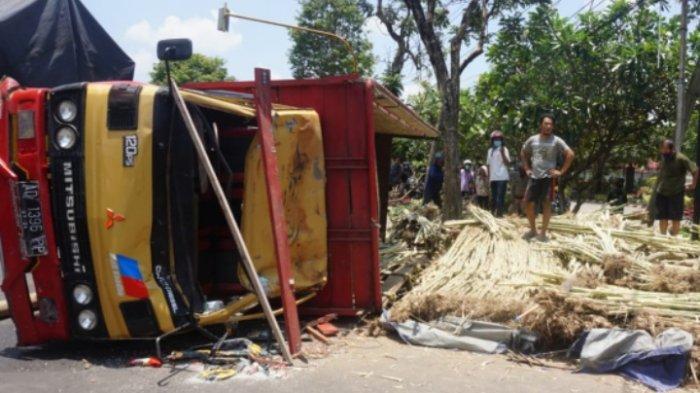Kronologi Pengendara Motor Tewas Tertimpa Truk Tebu di Jalan Pahlawan, Tulungagung