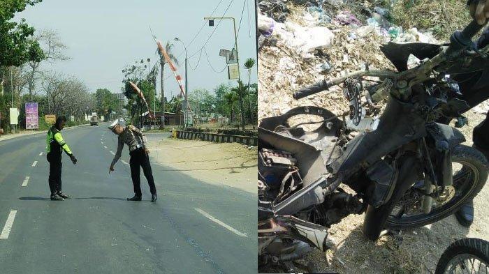 BREAKING NEWS – Pengendara Motor Tewas Ditabrak Truk Tronton di Tuban