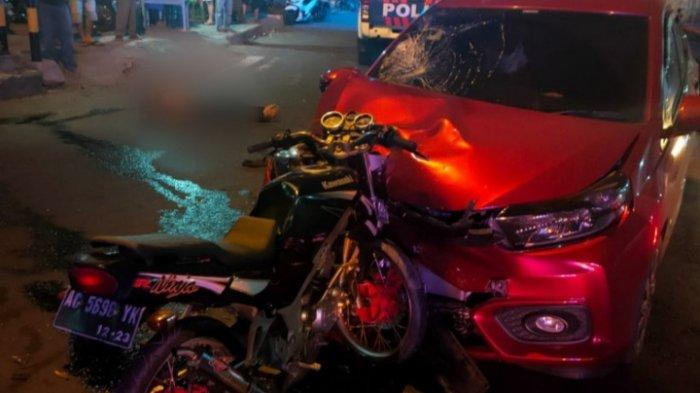 Kronologi Kecelakaan diJalan Raya Tulungagung-Blitar, Pengendara Motor Sampai Terpental