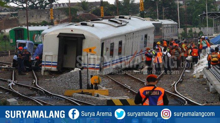 Tanpa Lokomotif, 7 Gerbong Kereta Api di Malang Tempuh Kecepatan 40 Km Per Jam Sendiri, Ini Faktanya