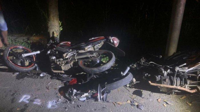 2 Orang Tewas dan 1 Orang Luka Berat dalam Kecelakaan di Jalan Gondang, Mojokerto