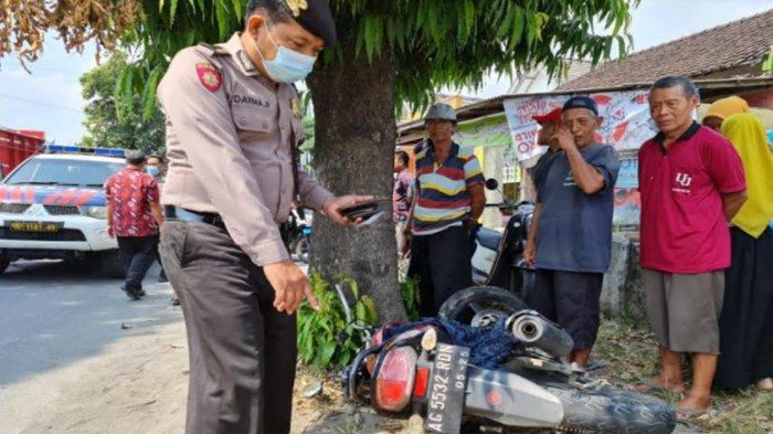 Pengendara Yamaha Vixion Tewas Seusai Tabrakan dengan Pikap di Jalan Mayor Sujadi Tulungagung