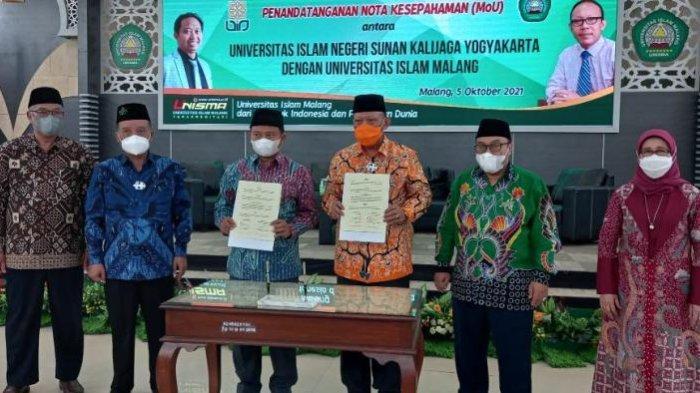 Rektor UIN Sunan Kalijaga Yogyakarta Isi Kuliah Umum dan Jalin Kerjasama dengan Unisma