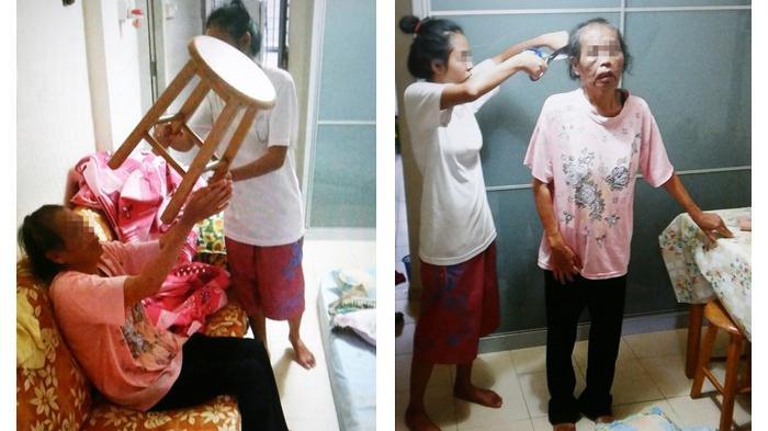 Kejam, Gadis Ini Tega Memberi Makan Ibunya Kotoran Manusia