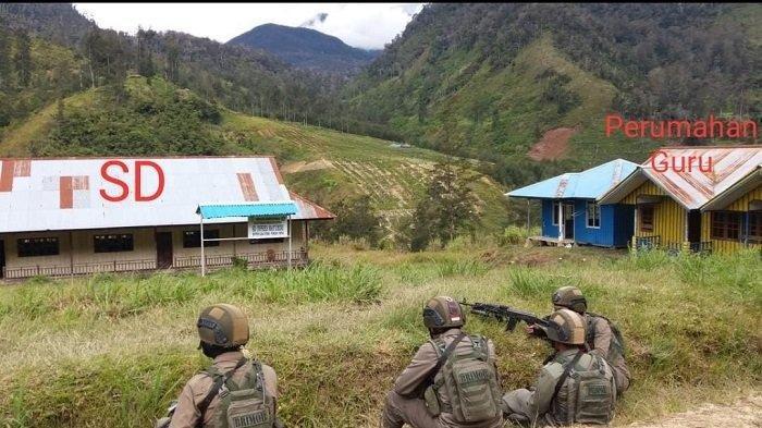 Kelompok Kriminal Bersenjata (KKB) Bakar Sekolah di Papua, Lokasi Dekat Markas Lekagak Telenggen