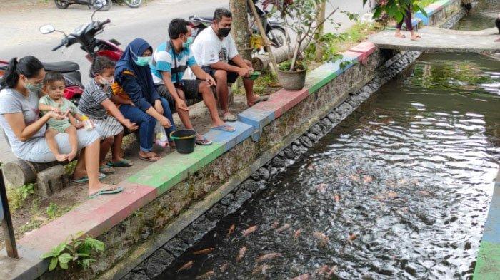 Kelompok Pemuda Sentul Kota Blitar Manfaatkan Saluran Irigasi untuk Budidaya Ikan