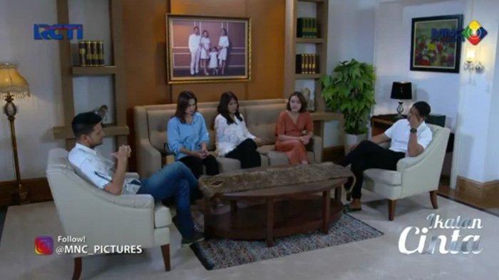Keluarga Aldebaran berunding adegan sinetron Ikatan Cinta Sabtu 9 Oktober 2021
