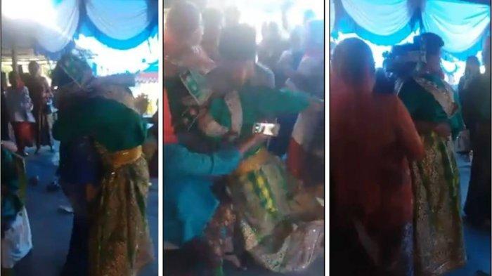 Kisah di Balik Video Mempelai Pria Pingsan di Pelukan Mantan, Sudah Dilamar dengan Mahar Mahal