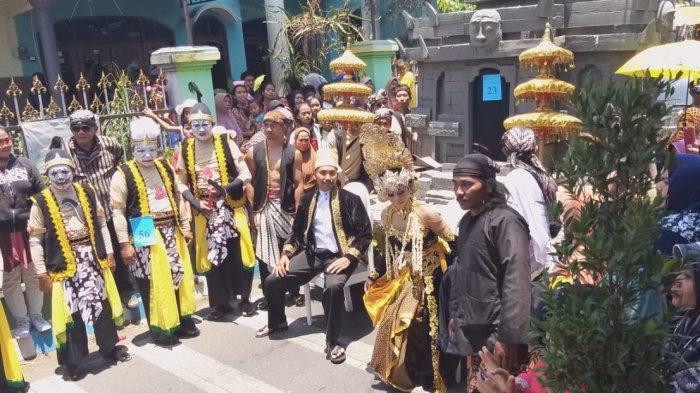 Komitmen Lestarikan Budaya, 4000 Warga Polowijen Gelar Karnaval dan Kirab Budaya