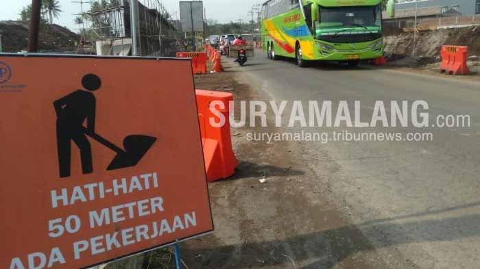 Belum Ada Perencanaan Rekayasa Lalu Lintas di Exit Tol Pakis, Kabupaten Malang