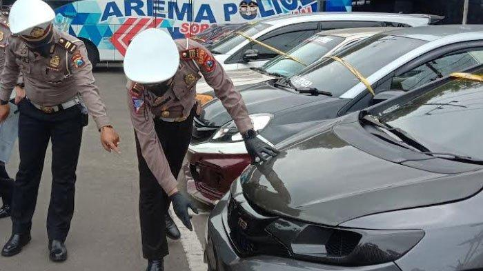 65 Kendaraan Terjaring Razia Balap Liar di Jalan Ahmad Yani, Kota Malang