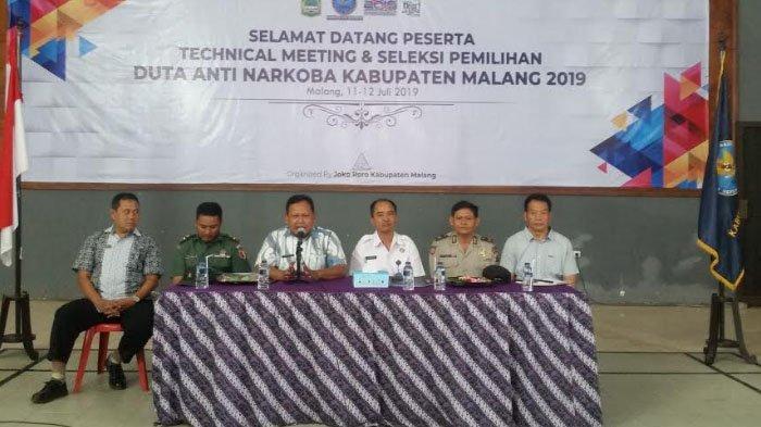 BNN Kabupaten Malang Gelar Duta Anti Narkoba 2019