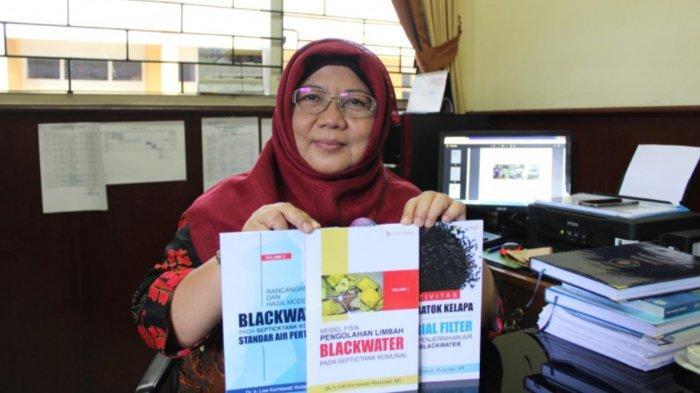 Penelitian Dosen ITN Malang Arang Batok Kelapa Bikin Limbah IPAL Tlogomas Jadi Jernih