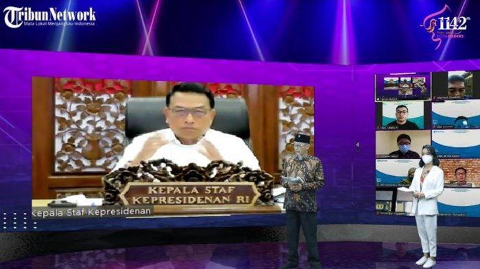 Kepala Staf Kepresidenan Moeldoko Puji Program Rancangan Pemkot Kediri