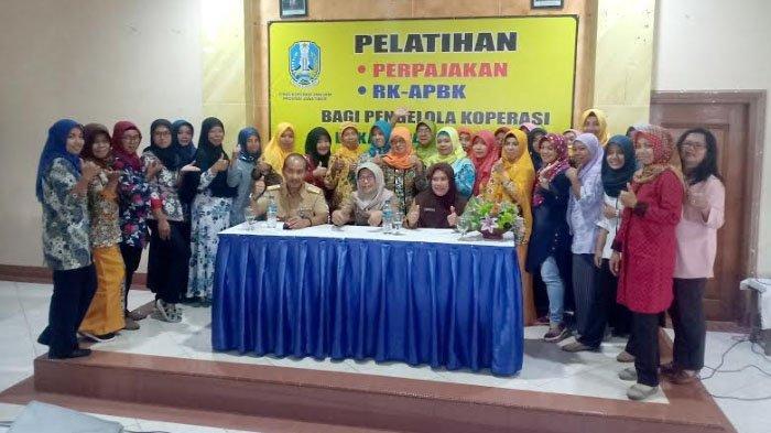 60 Koperasi di Pacitan Belajar Perpajakan dan RK-RAPBK