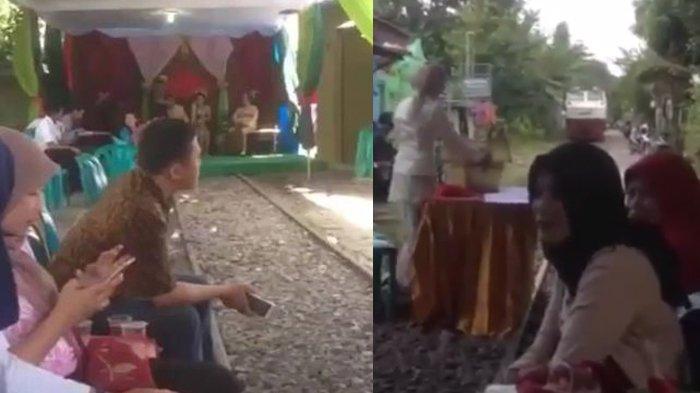 Penjelasan PT KAI soal Video Pernikahan di Rel Kereta Api, Ternyata Terjadi Beberapa Tahun Lalu