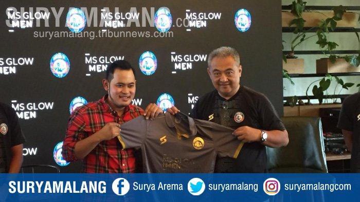 Arema FC Jalin Kerjasama dengan MS Glow For Men