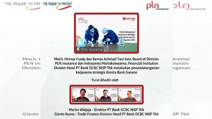 PLN Insurance dan Bank OCBC NISP Teken Kerjasama Kontra Bank Garansi