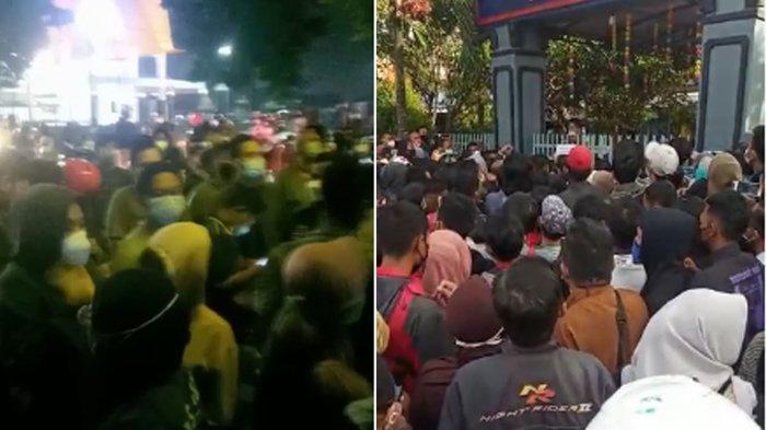 Warga Kota Malang 'Haus' Vaksinasi Covid-19 Sampai Ada Fenomena Antrian Vaksinasi Sejak Subuh
